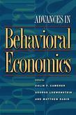Advances in Behavioral Economics