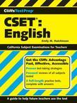 CliffsTestPrep CSET: English: English