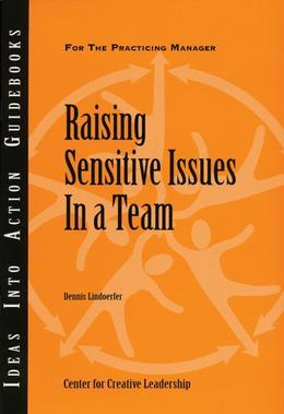Raising Sensitive Issues in a Team