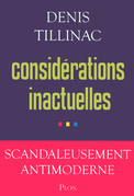 Considrations inactuelles