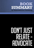 Summary: Dont Just Relate-Advocat - Glen Urban