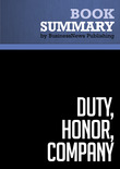 Summary: Duty Honor Company - Gil Dorland and John Dorland