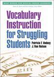 Vocabulary Instruction for Struggling Students