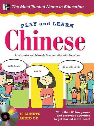 Play and Learn Chinese with Audio CD