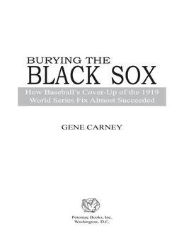 Burying the Black Sox