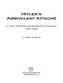 Hitler's Ambivalent AttachT