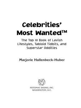 Celebrities' Most Wanted™
