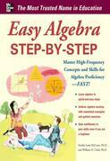 Easy Algebra Step-by-Step