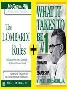 Lombardi - Rules and Lessons on What It Takes to Be #1 (EBOOK BUNDLE)