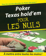 Poker Texas hold'em Pour les Nuls