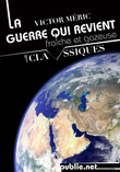 La guerre qui revient, frache et gazeuse