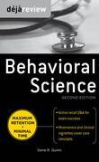 Deja Review Behavioral Science, Second Edition