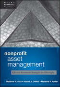 Nonprofit Asset Management: Effective Investment Strategies and Oversight