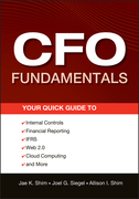CFO Fundamentals: Your Quick Guide to Internal Controls, Financial Reporting, Ifrs, Web 2.0, Cloud Computing, and More