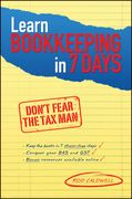 Learn Bookkeeping in 7 Days: Don't Fear the Tax Man