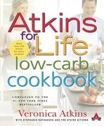 Atkins for Life Low-Carb Cookbook