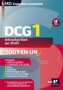 DCG 1 - Introduction au droit - Manuel et applications - 9e édition - Millésime 2015-2016