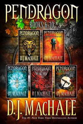 Pendragon Books 6-10: The Rivers of Zadaa; The Quillan Games; The Pilgrims of Rayne; Raven Rise; The Soldiers of Halla