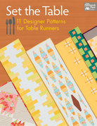 Set the Table: 11 Designer Patterns for Table Runners