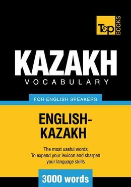 T&P English-Kazakh vocabulary 3000 words
