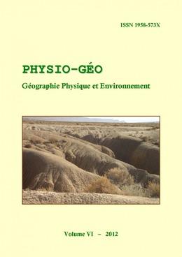 Volume 6   2012 - varia - Physio-Géo