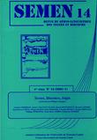 14 | 2002 - Textes, Dicours, Sujet - Semen