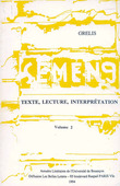 9 | 1994 - Texte, lecture, interprétation - Semen