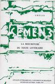 3 | 1987 - La réécriture du texte littéraire - Semen