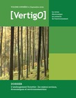 Volume 6 Numéro 2 | 2005 - L'aménagement forestier : les enjeux sociaux, économiques et environnementaux - VertigO