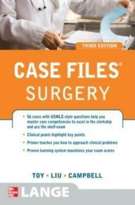 Case Files Surgery, Third Edition
