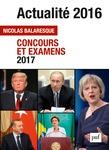 Actualité 2016 - Concours et examens 2017