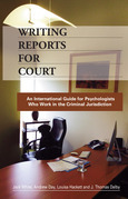 Writing Reports for Court