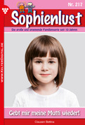 Sophienlust 217 - Liebesroman