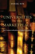 Universities in the Marketplace: The Commercialization of Higher Education