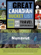 The Great Canadian Bucket List - Nunavut