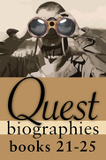 Quest Biographies Bundle - Books 21-25: Louis Riel / James Wilson Morrice / Vilhjalmur Stefansson / Robertson Davies / James Douglas