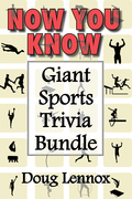 Now You Know - Giant Sports Trivia Bundle: Now You Know Golf / Now You Know Hockey / Now You Know Soccer / Now You Know Football / Now You Know Baseba