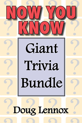 Now You Know - Giant Trivia Bundle: Now You Know / Now You Know More / Now You Know Almost Everything / Now You Know, Volume 4 / Now You Know Christma