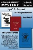 Charlie McKelvey Mysteries 3-Book Bundle: The Weight of Stones / Slow Recoil / The Devil's Dust