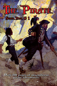 The Pirate Super Pack # 1: Treasure Island; The Malay Proas; The Ghost Pirates; With the Buccaneers; The Daughter of the Great Mogul; Barbarossa-King