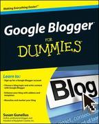Google Blogger for Dummies
