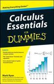 Calculus Essentials For Dummies