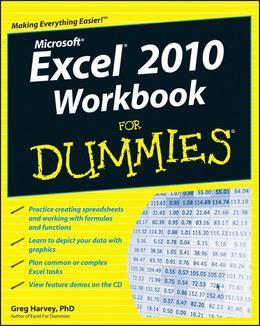 Excel 2010 Workbook For Dummies