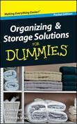 Organizing and Storage Solutions For Dummies, Pocket Edition