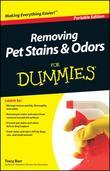 Removing Pet Stains and Odors For Dummies, Portable Edition