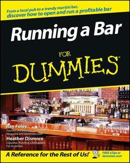 Running a Bar For Dummies