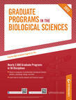 Peterson's Graduate Programs in the Biological Sciences 2012