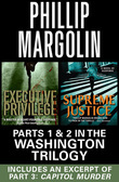 The Washington Trilogy: Parts 1 &amp; 2 with an excerpt from Capitol Murder