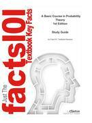 e-Study Guide for: A Basic Course in Probability Theory by Edward C. Waymire, ISBN 9780387719382