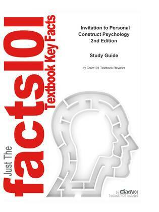 e-Study Guide for: Invitation to Personal Construct Psychology by Trevor Butt, ISBN 9781861563873